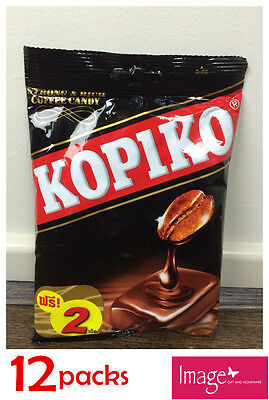 12 Pack Kopiko Coffee Candy 150g Kopi flavor Candies