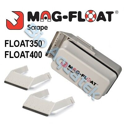Mag-Float Scrape Floating Aquarium Glass Cleaner Scraper Large Plus Magnet Blade
