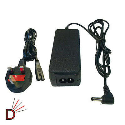 For HP Compaq Mini Charger 110-1000 210-2000 210-3000 Netbook + MAINS CABLE