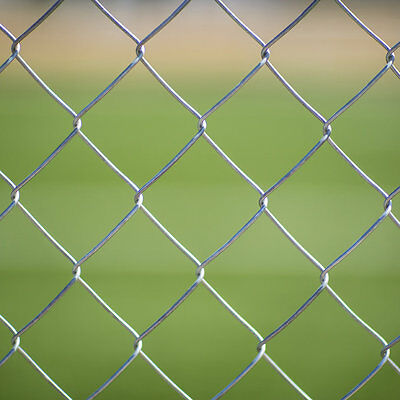 GALVANISED CHAIN LINK 2.5mm WIRE FENCE FENCING 1.8m (6ft) high x 10m Long
