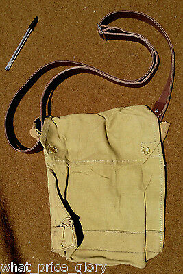 Original Mk VII Indiana Jones type Bag with Leather Strap