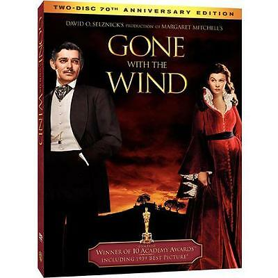 Gone With the Wind (DVD,  2-Disc Set, 70th Anniversary Edition) NEW Clark Gable