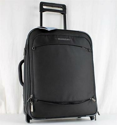 """BRIGGS AND RILEY TRANSCEND 20"""" TU220 BLACK WIDE BODY WHEELED CARRY ON SUITCASE"""
