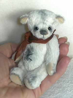 Mohair Bear Sewing Pattern 4 Inch