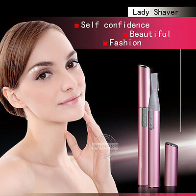 Womens Lady Shaver Electric Hair Remover Bikini Legs Eyebrow Trimmer Shaper Gift