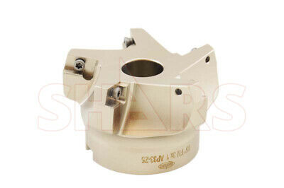 """Stop Throwing Away Used APKT 1604 3"""" 75° Indexable Face Mill New $217.50Off"""