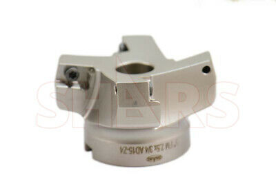 """Stop Throwing Away Used ADKT 1505 2-1/2"""" 75° Indexable Face Mill New $115.85 Off"""