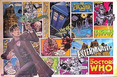 Doctor Who - Comic Strip-Licensed POSTER-90cm x 60cm-Brand New