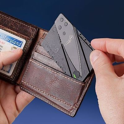 """15 pieces  Hot Selling Sinclair Cardsharp Wallet Folding Safety Knife""""*"""