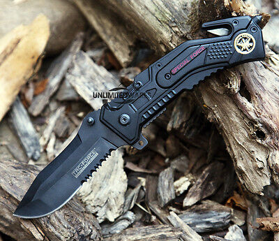 "7.5"" TAC FORCE SPRING ASSISTED FOLDING KNIFE Blade Tactical Pocket Assist Switch"