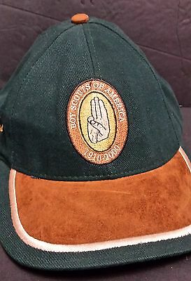 1910 2000  Boy Scouts of America Ball Cap Hat 90th Aniversity Collectors Edition