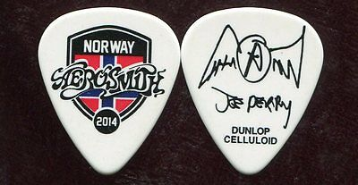 AEROSMITH 2014 Tour Guitar Pick!!! JOE PERRY custom concert stage NORWAY