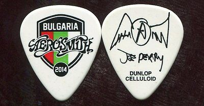 AEROSMITH 2014 Tour Guitar Pick!!! JOE PERRY custom concert stage BULGARIA