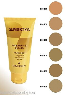 Coverderm Superfection Body Bronzing Make Up - Waterproof - £5.99 !!!