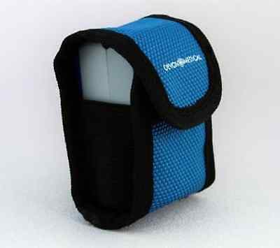 Devon Medical Carrying Case for Fingertip Pulse Oximeters (With Neck Cord and Be