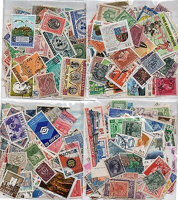 World Stamp 100+ Stamps Mint & Used  Off Paper ( Buy Two,get Third Pkt Free )