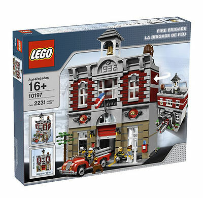 LEGO Fire Brigade 10197 Creator Modular Building Set RETIRED * NIB
