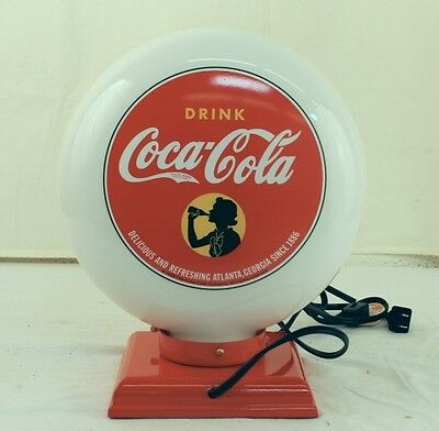 Collectible Coca-Cola Gaso-lite-Girl Light/Lamp -New in Original Packaging