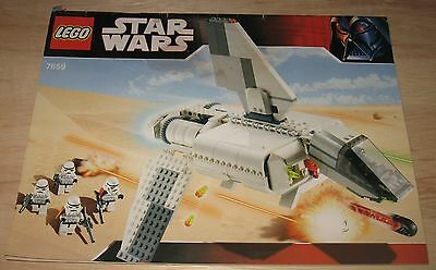 LEGO Star Wars Set 7659 - Imperial Landing Craft - Take a look!