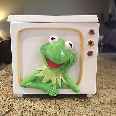 Muppet Kermit the Frog Ceramic Canister