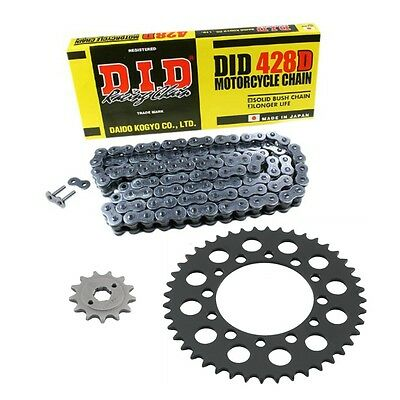 Genuine OE DID Chain and Sprocket Kit for Yamaha XT 125 R 05-11