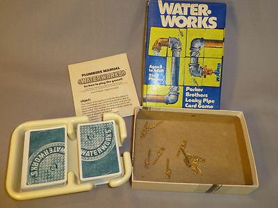 1976 Parker Bros. Water Works Card Game - Complete