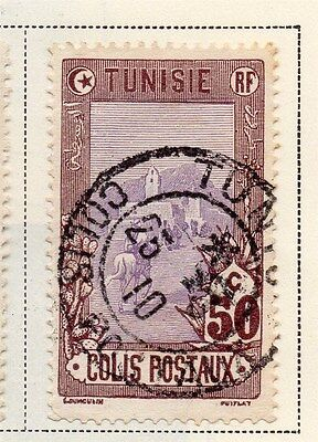 Tunisia 1906 Parcel Post Early Issue Fine Used 50c. 118062