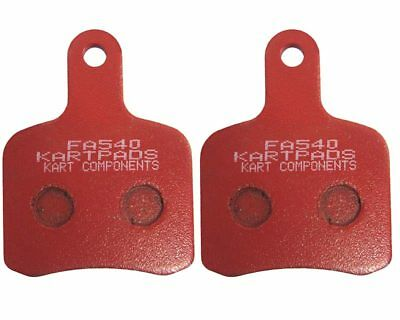 EBC Tony / OTK Pattern Brake Pads Red Hard FA540 Top Quality Rapid Post Go Kart
