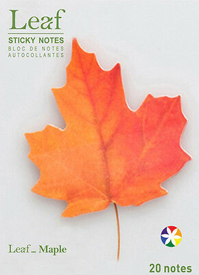 Maple Leaf Sticky Notes