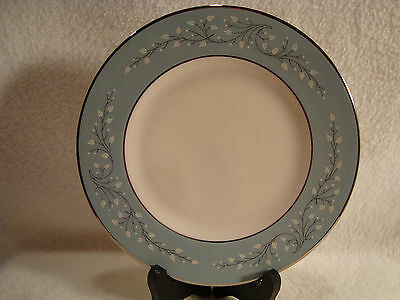 #263  four, Syracuse China Minuet Pattern porcelain Bread & Butter Plates