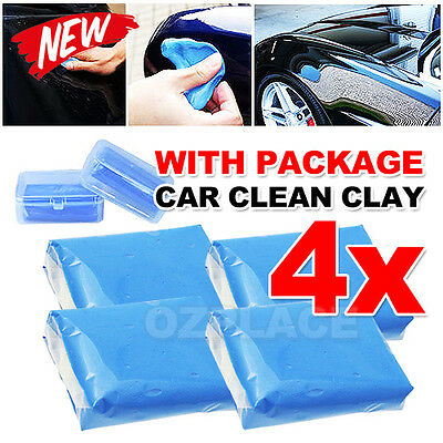 Premium Magic Car Truck Auto Vehicle Clean Clay Bar Detailing Wash Cleaner 4pcs