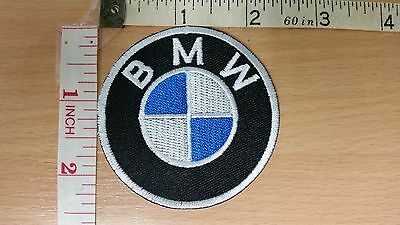 BMW Logo Embroidered Iron On Patch high quality