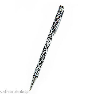 Celtic Dragon Design  Ballpoint Pen  With Pouch