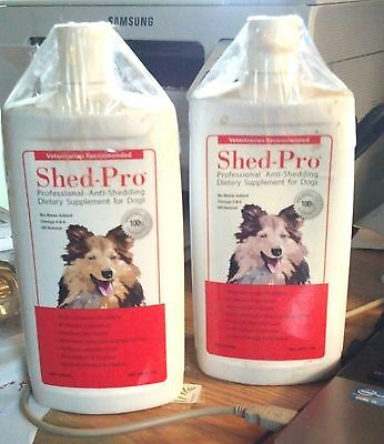 Shed-Pro 24 oz professional anti-shedding dietary supplement for dogs 1 BOTTLE
