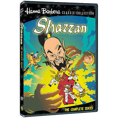 Shazzan: Hanna-Barbera Classic Complete Series Shazzam DVD Season Boxed Set NEW!