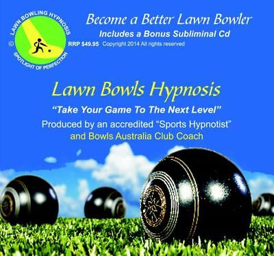 The Best Lawn Bowls Coaching Hypnosis Cd Available + Ako's Bowls  Cloth