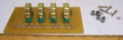 Relay Subassembly for Military Gas Engine Generator Set - Model # SF-10-MD