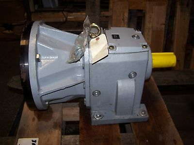 New Idex Viking Inline Helical Pump Gear Reducer 19.6:1 Ratio 3-551-61C-196-28