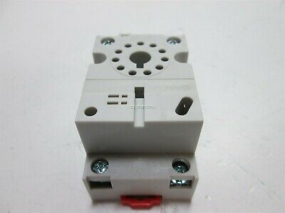 Lot of 7 Square D 8501NR62B Relay socket