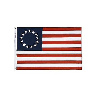 Betsy Ross 3x5 ft Perma Dye Flag House Banner Weather Proof
