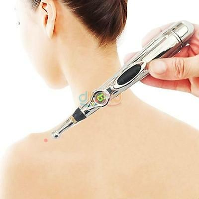 Advanced Electronic Acupuncture Pen Meridian Massage Pain Relief Therapy Tool