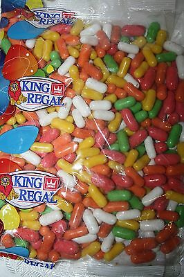 King Regal FRUIT DRAGEES 1kg Bulk Bag