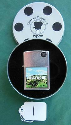 2000 Stars Of Hollywood Series Hollywood Hills Zippo Lighter Sealed New + Tin #1