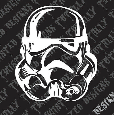 Star Wars storm trooper car truck vinyl decal sticker empire stormtrooper darth