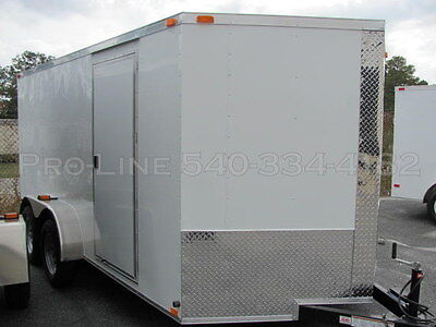 New 7' x 16' Cargo/Utility Trailer with Ramp  ***IN STOCK***
