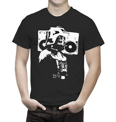 Vader Boombox tshirt star wars Darth Sith The force
