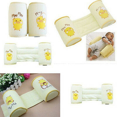 Baby Toddler Safe Cotton Anti Roll Pillow Sleep Head Positioner Anti-rollover ss