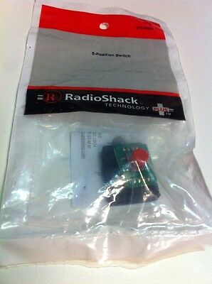 5-Position Switch #275-0029 By RadioShack