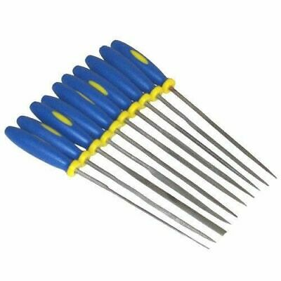 10 Pce Mini Needle File Set Precision Micro Files Craft Metal Work Tools