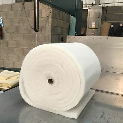 Camper Van Insulation 20M X 1M X 35Mm Thick Light Weight Dacron Polyester